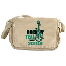 RockinTealFor Sister Messenger Bag