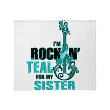 RockinTealFor Sister Throw Blanket