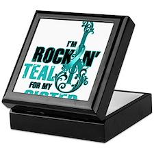 RockinTealFor Sister Keepsake Box