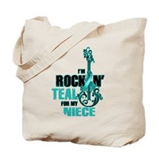 RockinTealFor Niece Tote Bag
