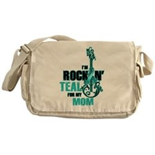 RockinTealFor Mom Messenger Bag
