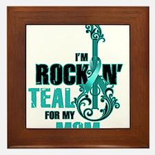 RockinTealFor Mom Framed Tile