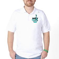 RockinTealFor Mom T-Shirt