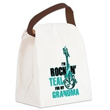 RockinTealFor Grandma Canvas Lunch Bag