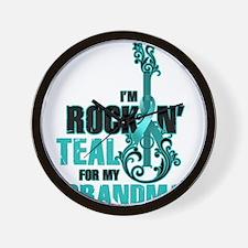 RockinTealFor Grandma Wall Clock