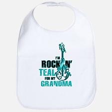 RockinTealFor Grandma Bib