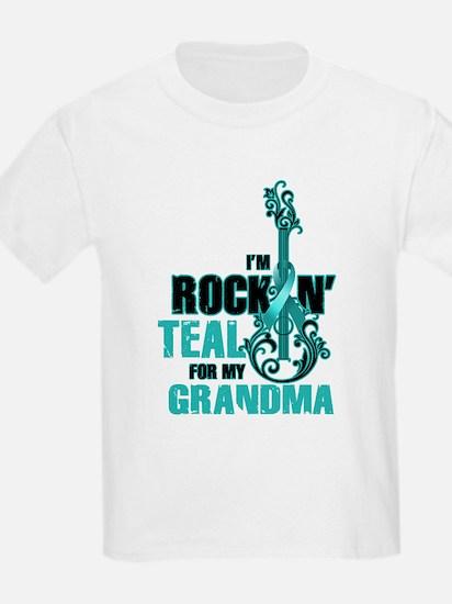 RockinTealFor Grandma T-Shirt