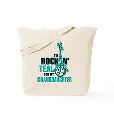 RockinTealFor Granddaughter Tote Bag