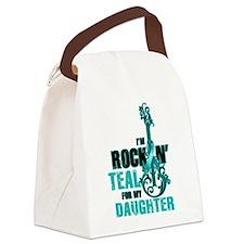 RockinTealFor Daughter Canvas Lunch Bag