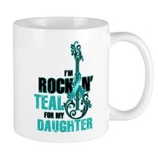 RockinTealFor Daughter Mugs