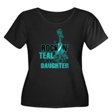RockinTealFor Daughter Plus Size T-Shirt