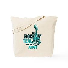 RockinTealFor Aunt Tote Bag