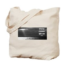 light is near Tote Bag