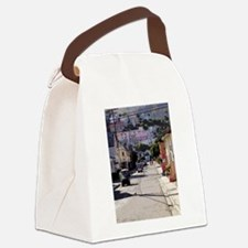 Coming Through Canvas Lunch Bag