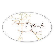 Darwins tree of life: I think Decal