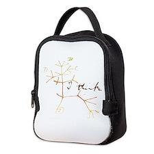 Darwins tree of life: I think Neoprene Lunch Bag