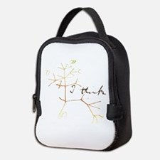 Darwins tree of life: I think Neoprene Lunch Bag