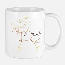 Darwins tree of life: I think Mugs