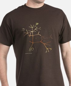 Darwins tree of life: I think T-Shirt