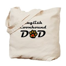 English Coonhound Dad Tote Bag