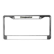 Team Amazon License Plate Frame