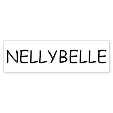 Nellybelle Bumper Bumper Sticker