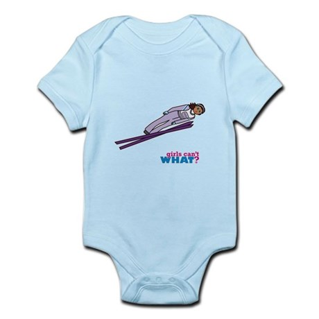 Ski Jump Dark Infant Bodysuit