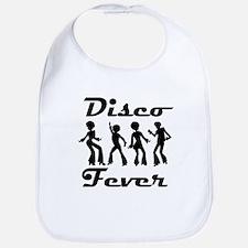 Disco Fever Disco Dancers Bib