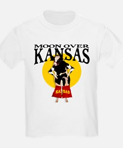 Moon Over Kansas! T-Shirt