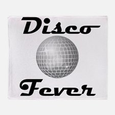 Disco Fever Disco Ball Throw Blanket