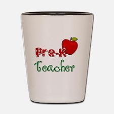 Pre K teacher Shot Glass