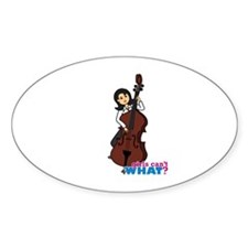 String Bass Player - Medium Decal