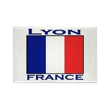 Lyon, France Rectangle Magnet