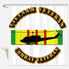 Vietnam - AVN - Air Assault Shower Curtain