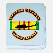 Vietnam - AVN - Air Assault baby blanket