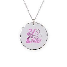 21 And Fabulous (Glitter) Necklace