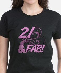 21 And Fabulous (Glitter) Tee