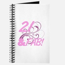 21 And Fabulous (Glitter) Journal