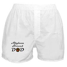 Afghan Hound Dad Boxer Shorts