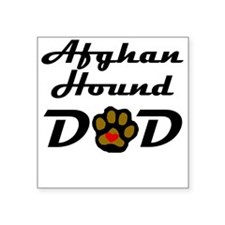 Afghan Hound Dad Sticker