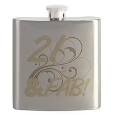 21 And Fabulous (Glitter) Flask