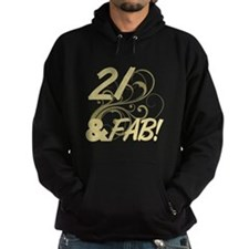 21 And Fabulous (Glitter) Hoodie