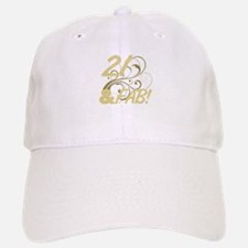 21 And Fabulous (Glitter) Baseball Baseball Cap