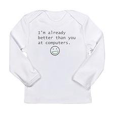 computers Long Sleeve T-Shirt