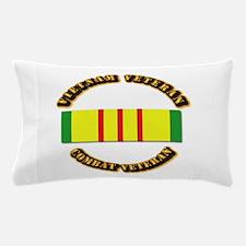 Vietnam Veteran - Service Medal Pillow Case
