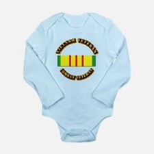 Vietnam Veteran - Serv Long Sleeve Infant Bodysuit