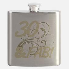 30 And Fabulous (Glitter) Flask
