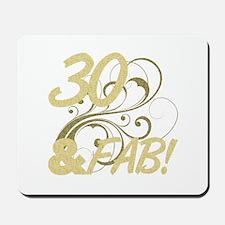 30 And Fabulous (Glitter) Mousepad