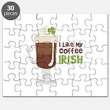 I Like My Coffee Irish Puzzle