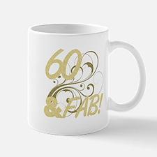 60 And Fabulous (Glitter) Mug